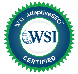 WSI ALM is an Adaptive SEO Certified Supplier